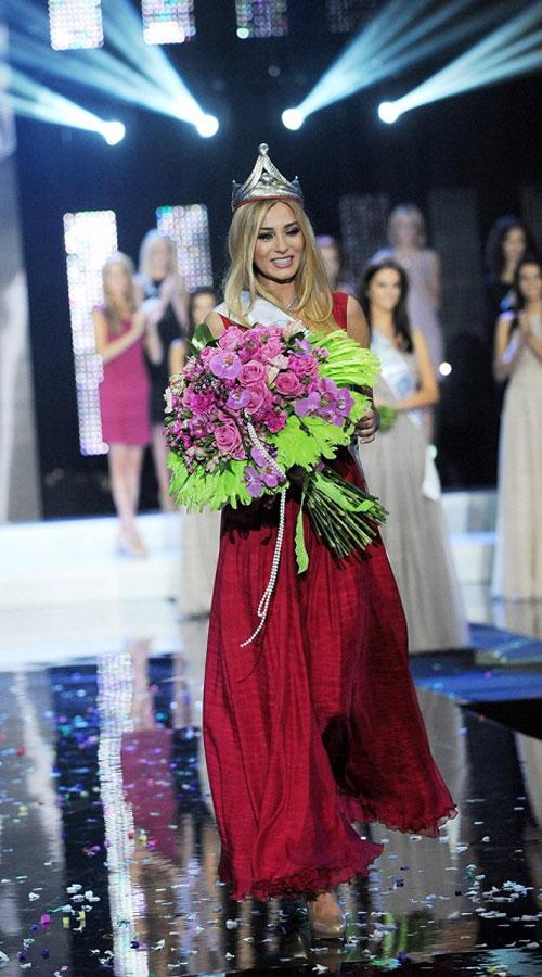 Miss Polonia 2011,Marcelina Zawadzka