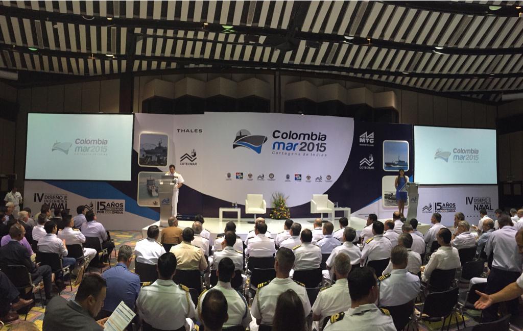 Colombiamar 2015 'eleva anclas' en Cartagena