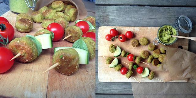 Små grønne deller - vegetar - mit livs kogebog