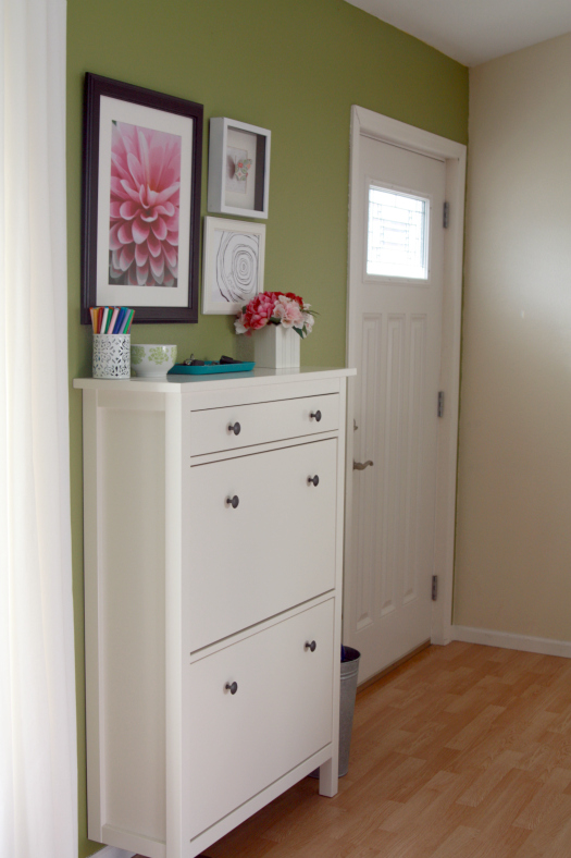 IHeart Organizing: A Happy and Organized Entry