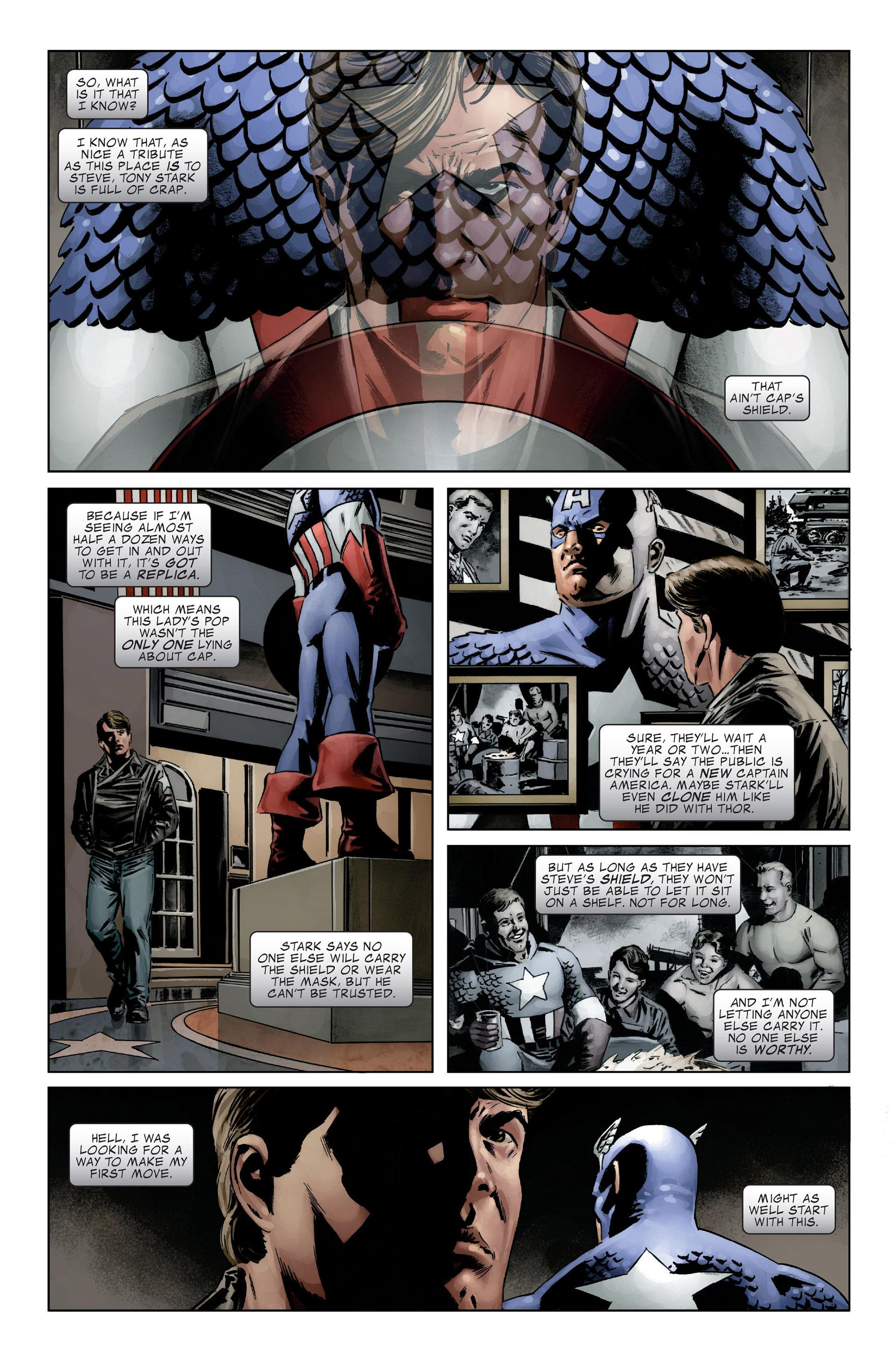 Captain America (2005) Issue #27 #27 - English 6