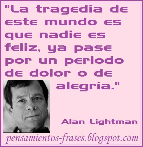 frases de Alan Lightman