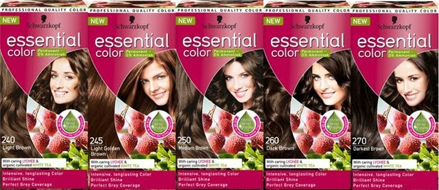 оттенки Schwarzkopf Essential Color