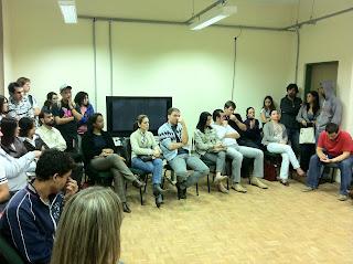 Professores da Unipampa São Borja em assembleia