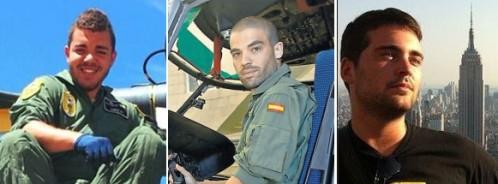 Los militares estaban muertos en la cabina del helicóptero del SAR