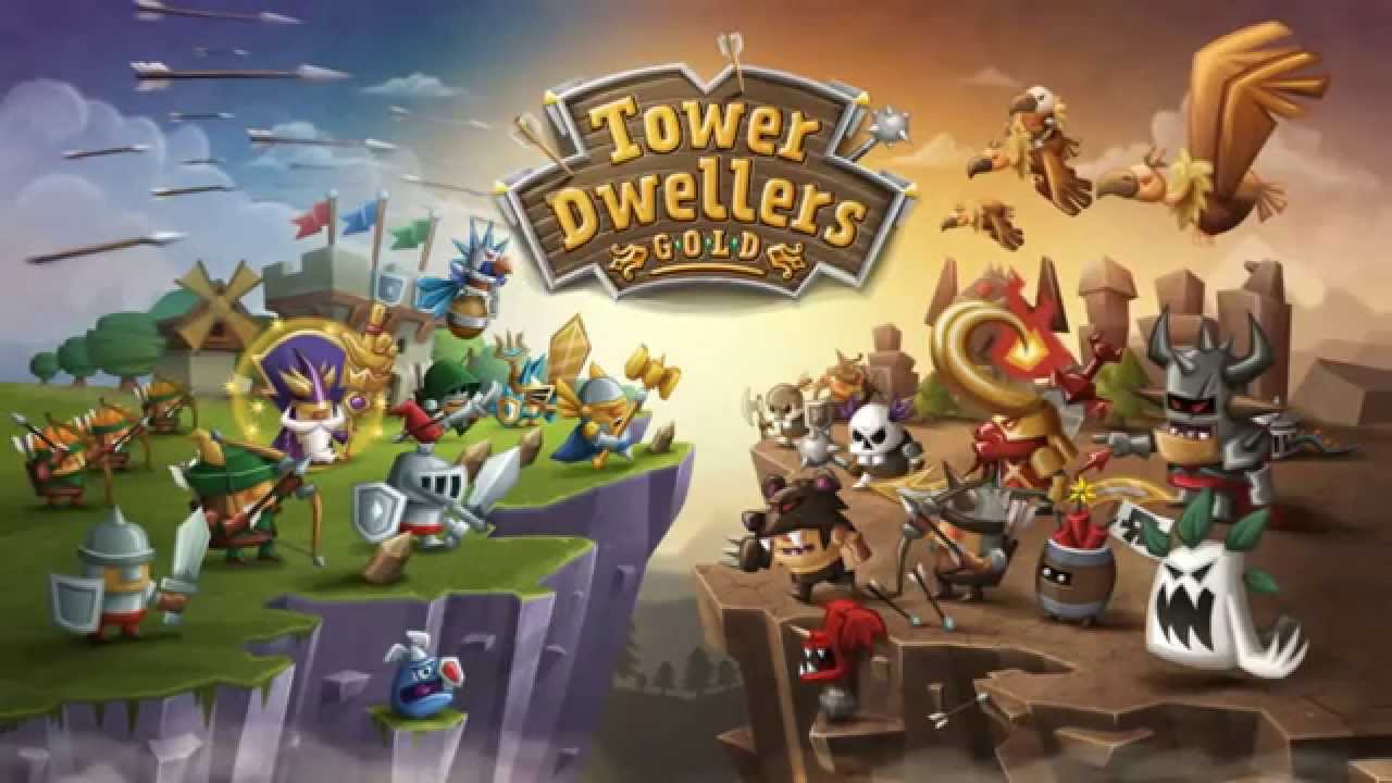 Tower Dwellers Gold Gameplay IOS / Android