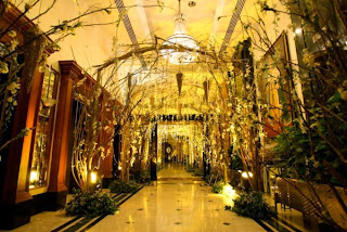 Wedding Stage Hall Entrance And Tables Ideas And Concept Wedding Amp Fashion Trends