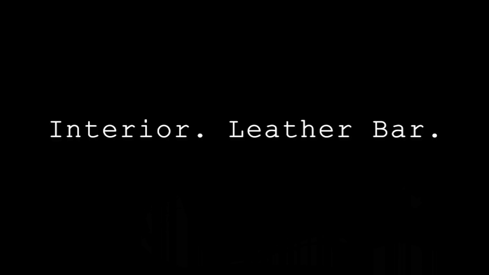 interior leather bar 2013 movie