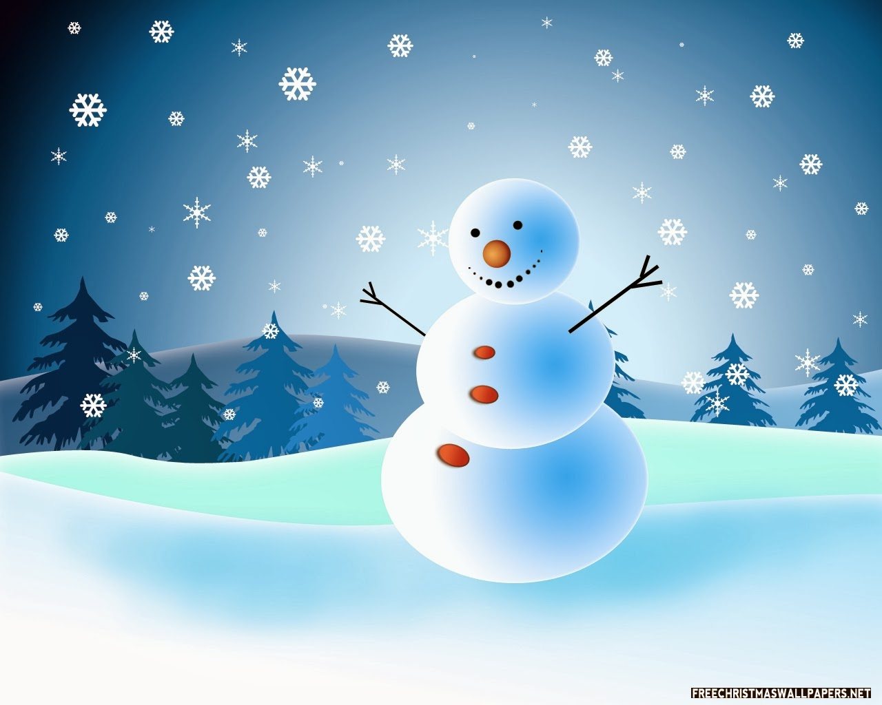 Animated Christmas Cards Snowman Merry 2015