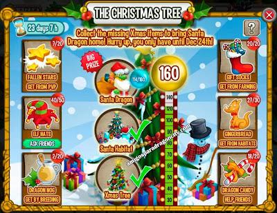 imagen delpProgreso del evento el arbol de navidad