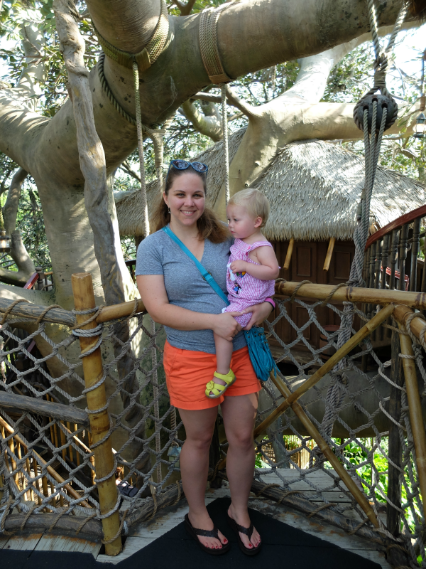 Magic Kingdom's Swiss Family Robinson Tree House Attraction