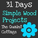 31 Days of Simple Wood Projects