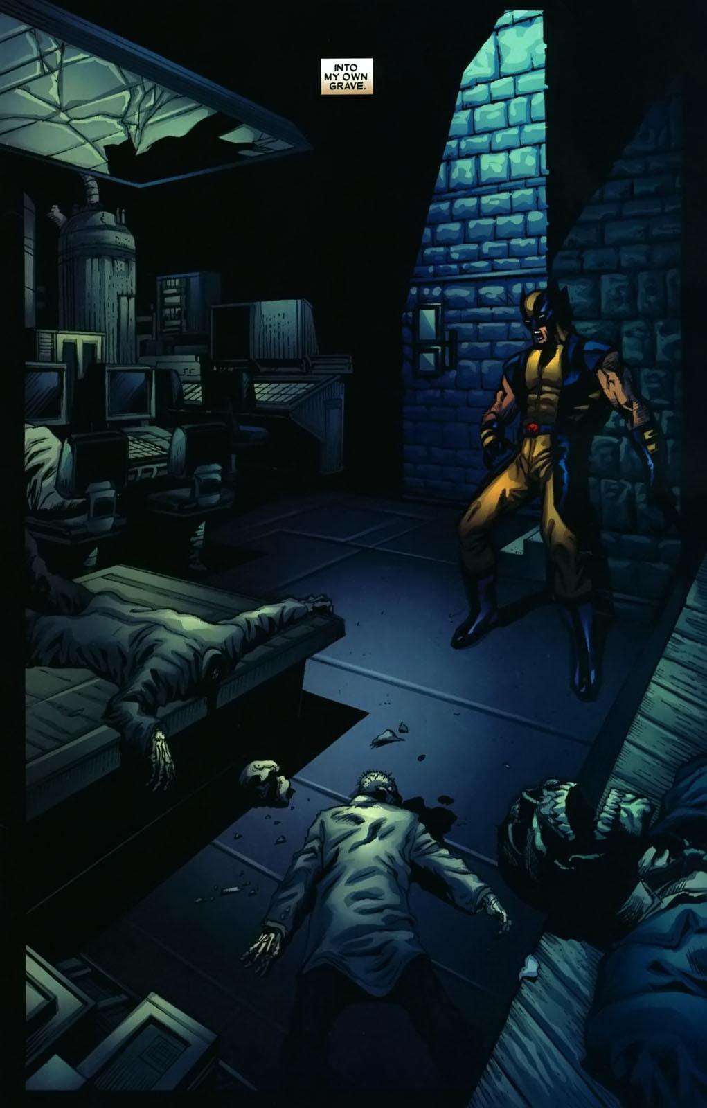 Read online Wolverine (2003) comic -  Issue #38 - 10