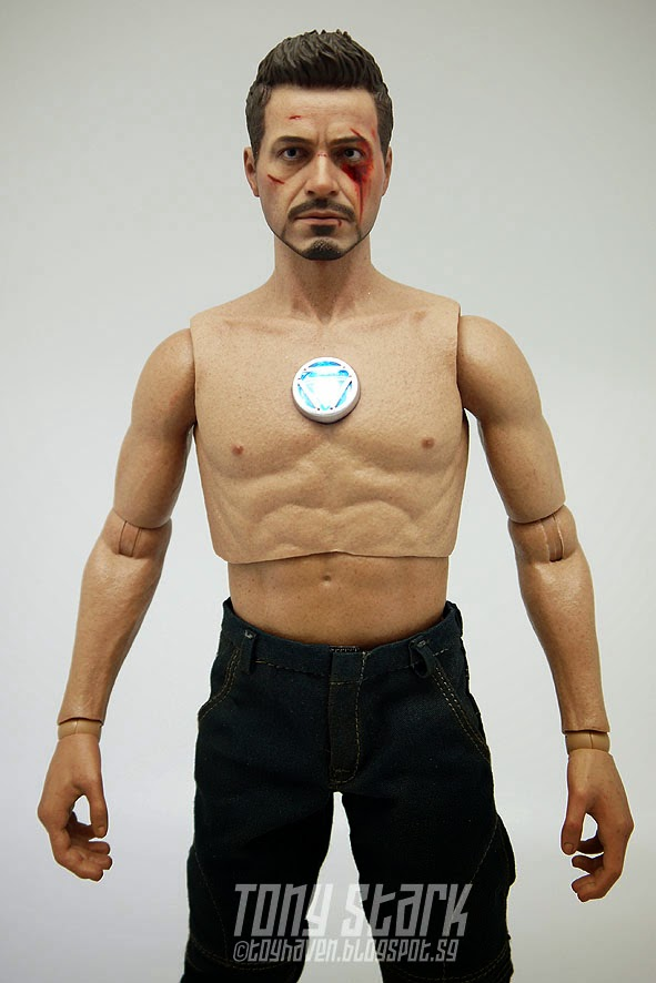 toyhaven: Review 1: Hot Toys 1/6 scale Iron Man 3: Tony ...