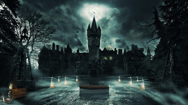 wallpaper gambar gambar misteri dark kegelapan gudang