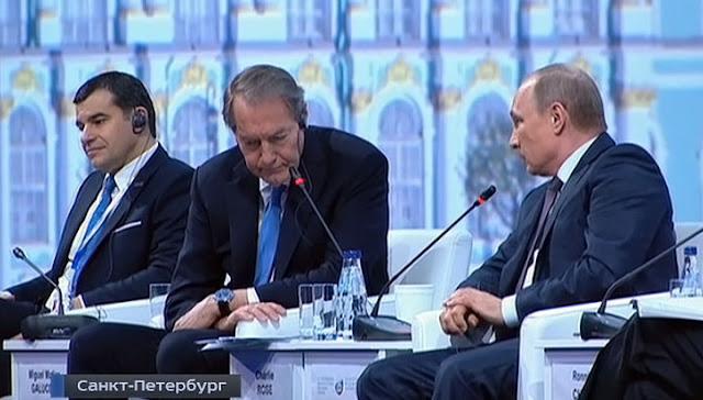Vladimir Putin schools Charlie Rose