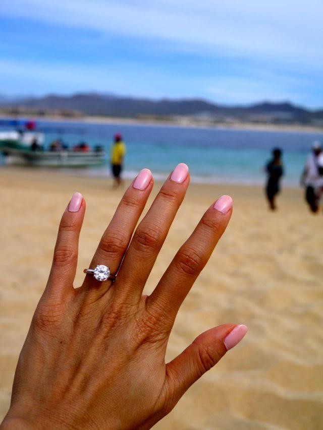 2 carats diamond engagement ring