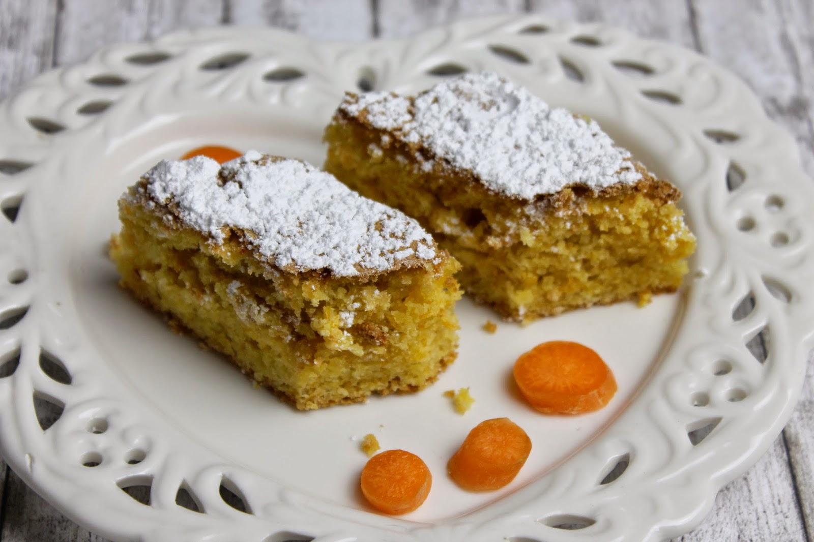 Glutenfreier Möhrenkuchen zu Ostern
