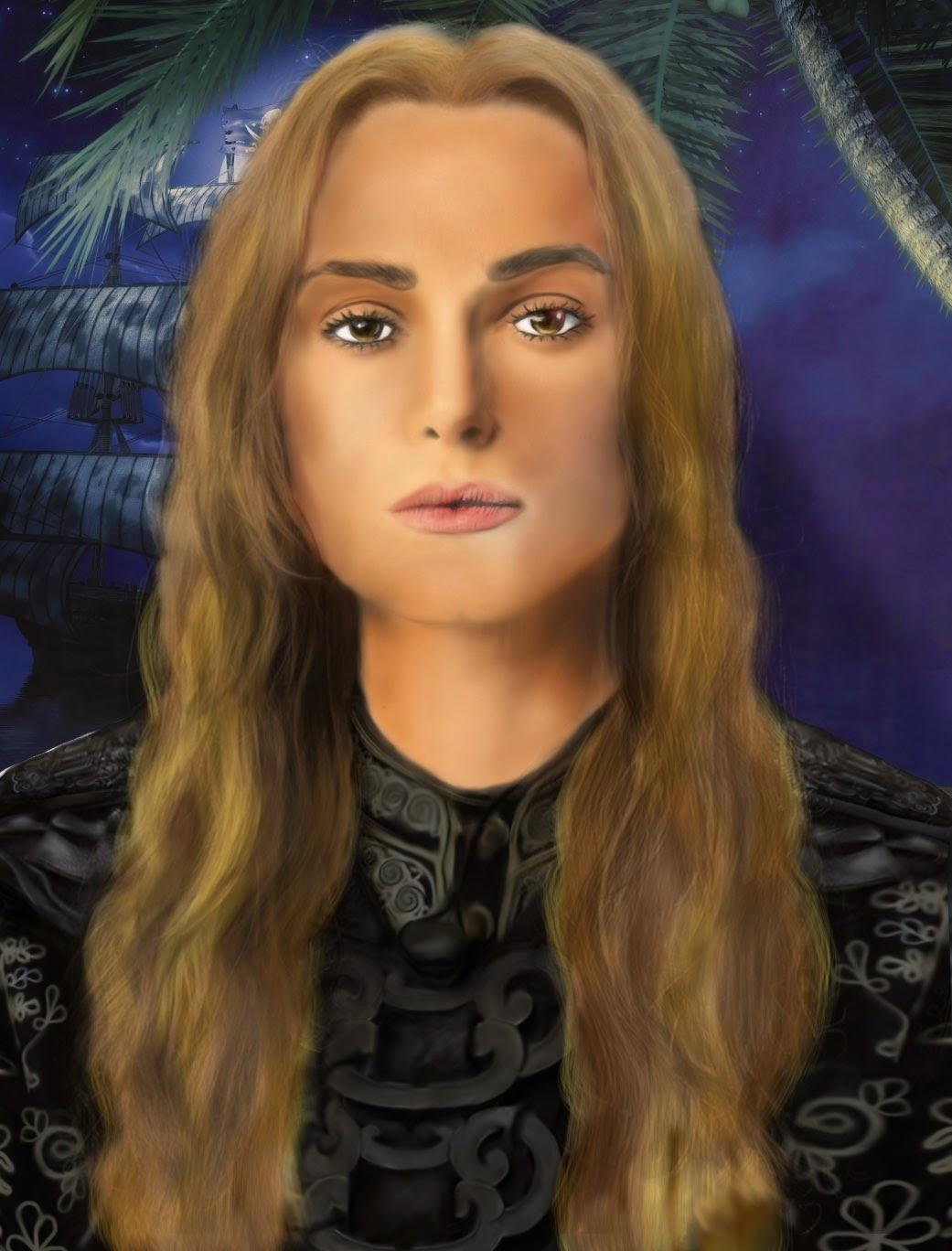 ELIZABETH SWAN - PIRATAS  DEL CARIBE