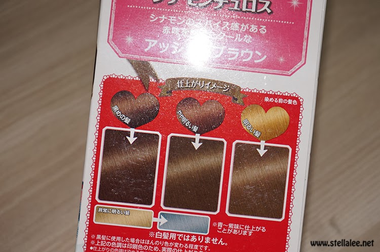 palty hair dye english instructions