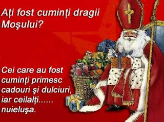 Cadourile lui Mos Nicolae.