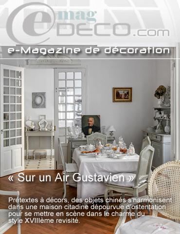 trendy couverture du magazine de dcoration emagdeco with magazine decoration maison