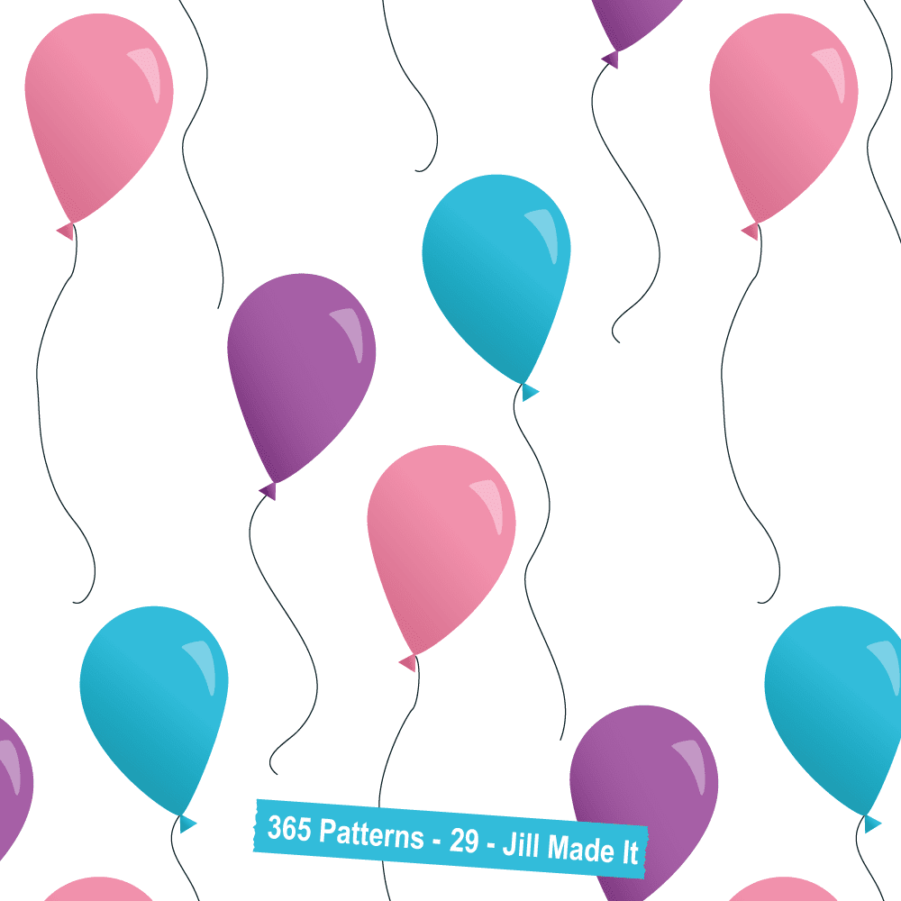 365 Patterns:  Balloons
