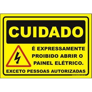 Figura 2 - Placa de alerta contra risco de descarga elétrica. f0b3f55699