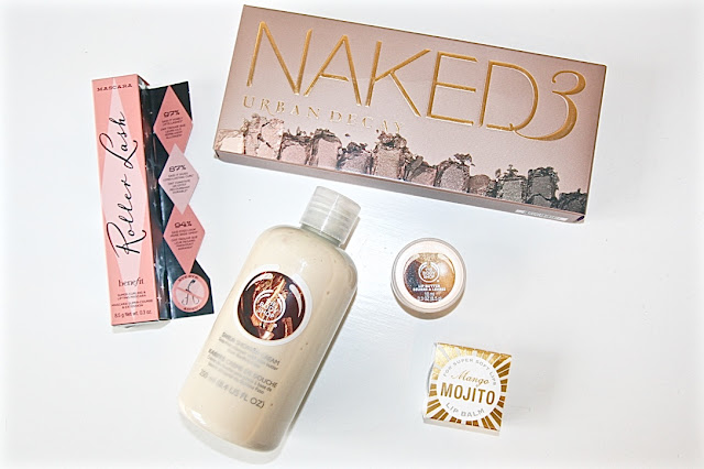 Katherine Penney Chic Blogger What I got for my birthday Present Summer Favourites Lucky Girlie Beauty Makeup Cool 19th Naked 3 palette urban decay