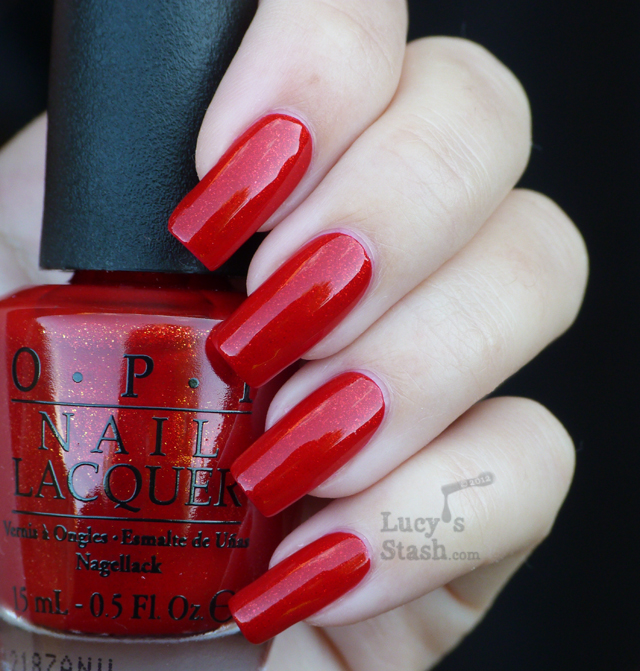 Lucy's Stash - The Spy Who Loved Me from OPI Skyfall Collection