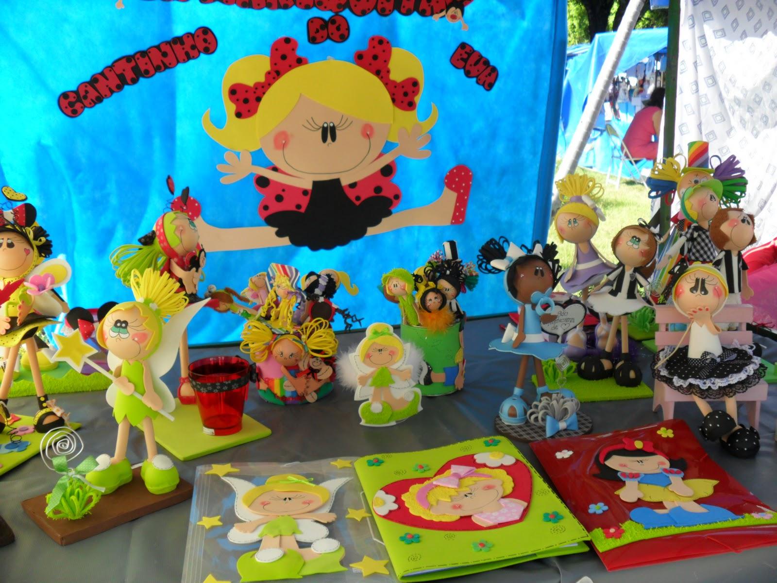 Arte Minha Artesanato São Carlos ~ Ronise Mendes Artesanato Arte em E v a Minha barraca na feira de artesanato em MONTES CLAROS
