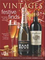 Cover photo of November 10, 2012 LCBO Vintages Release