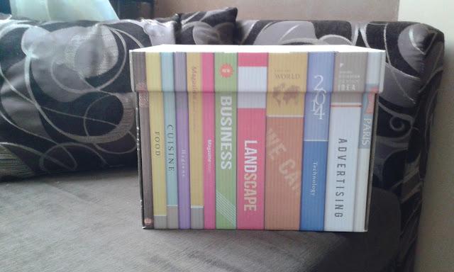 Gadżety mola książkowego: karton na książki