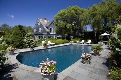 grey gardens, poolside, landscape