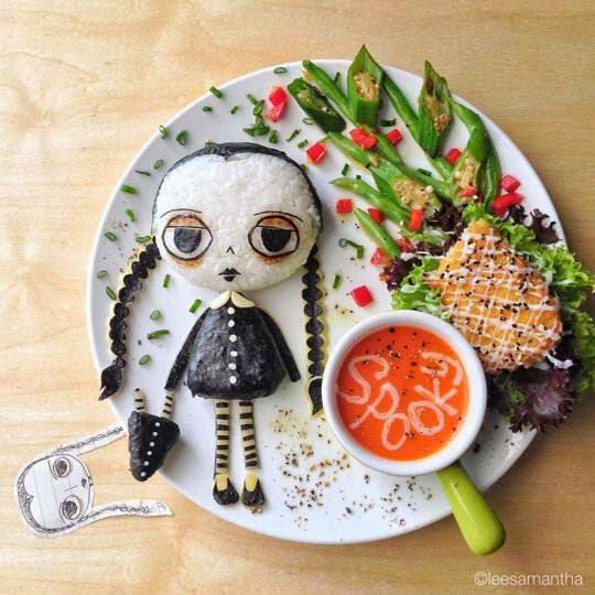 Món ngon của Samantha Lee trong dịp lễ Halloween