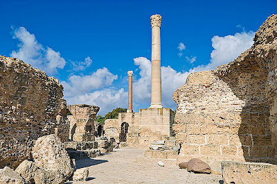Ancient city of Carthage, Tunisia