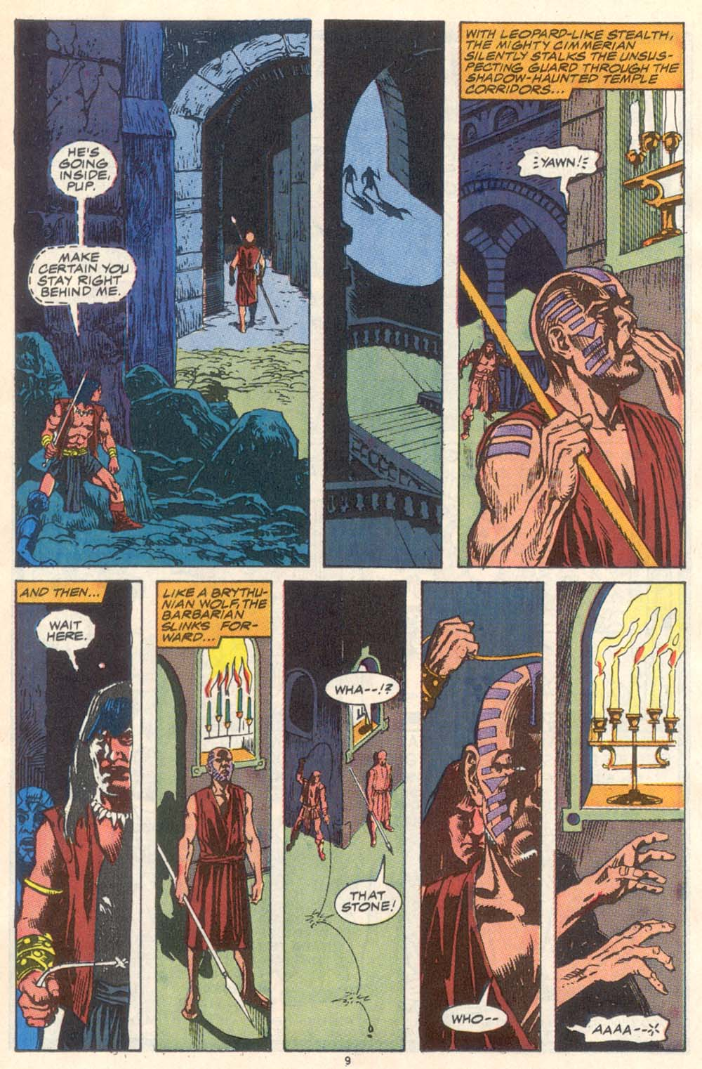 Conan the Barbarian (1970) Issue #223 #235 - English 8