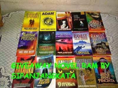 Second Giveaway Novel RAM by SiPanjangKata (15 Jun 2015)