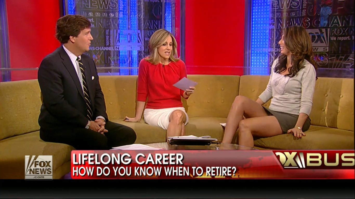 Last Week of Feb: Gretchen Carlson and other Fox News Ladies.