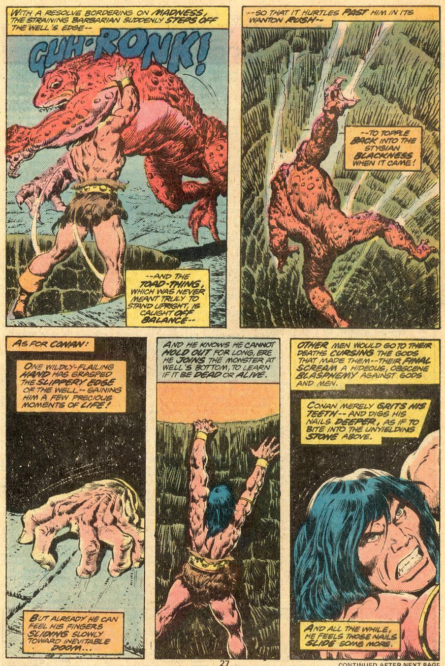 Conan the Barbarian (1970) Issue #73 #85 - English 16
