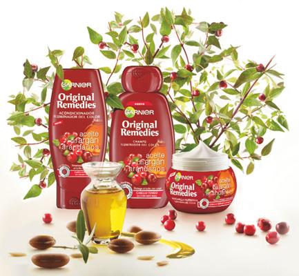 Garnier Original Remedies Aceite de Argán y Arándanos
