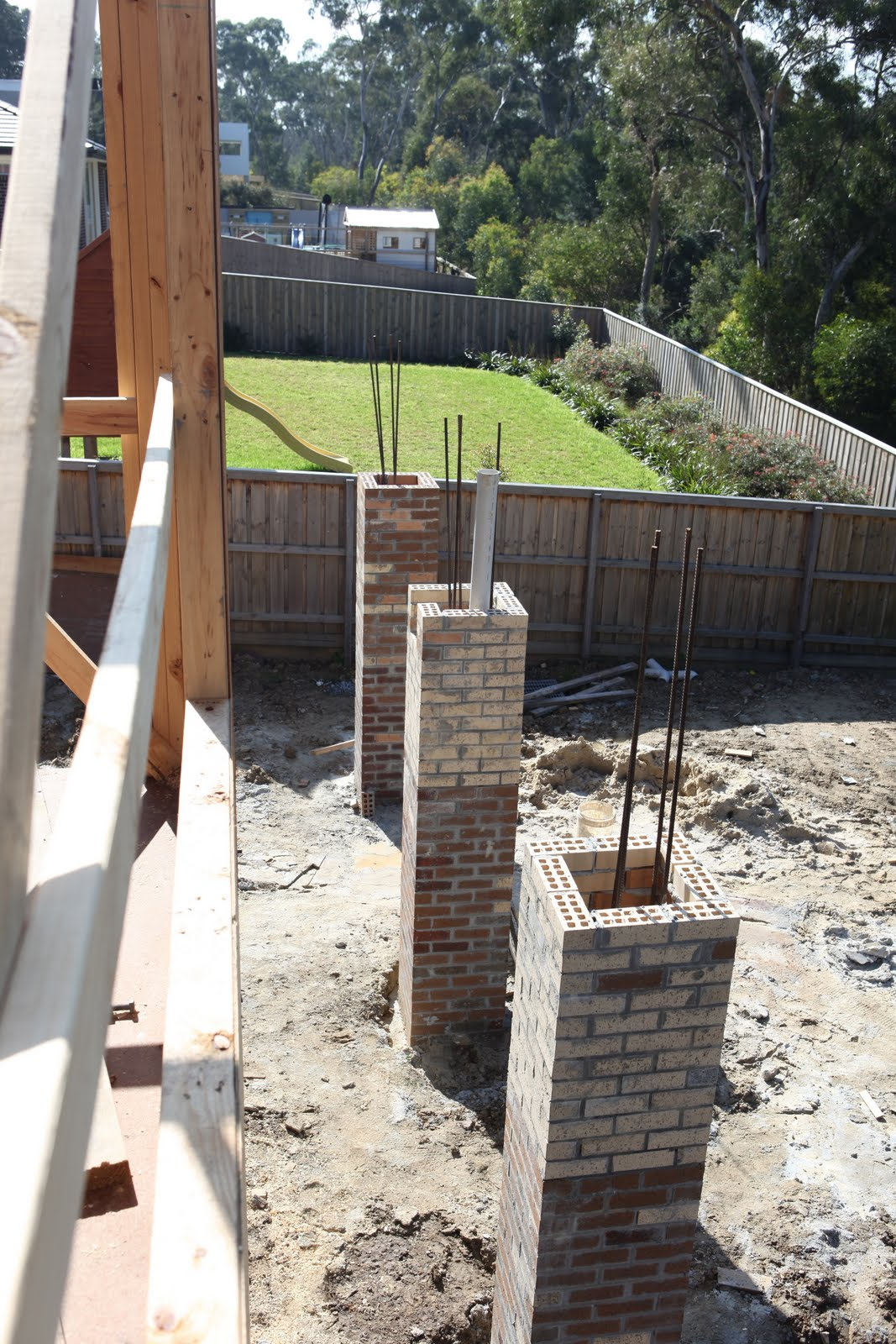 How To Build A Deck With Concrete Piers