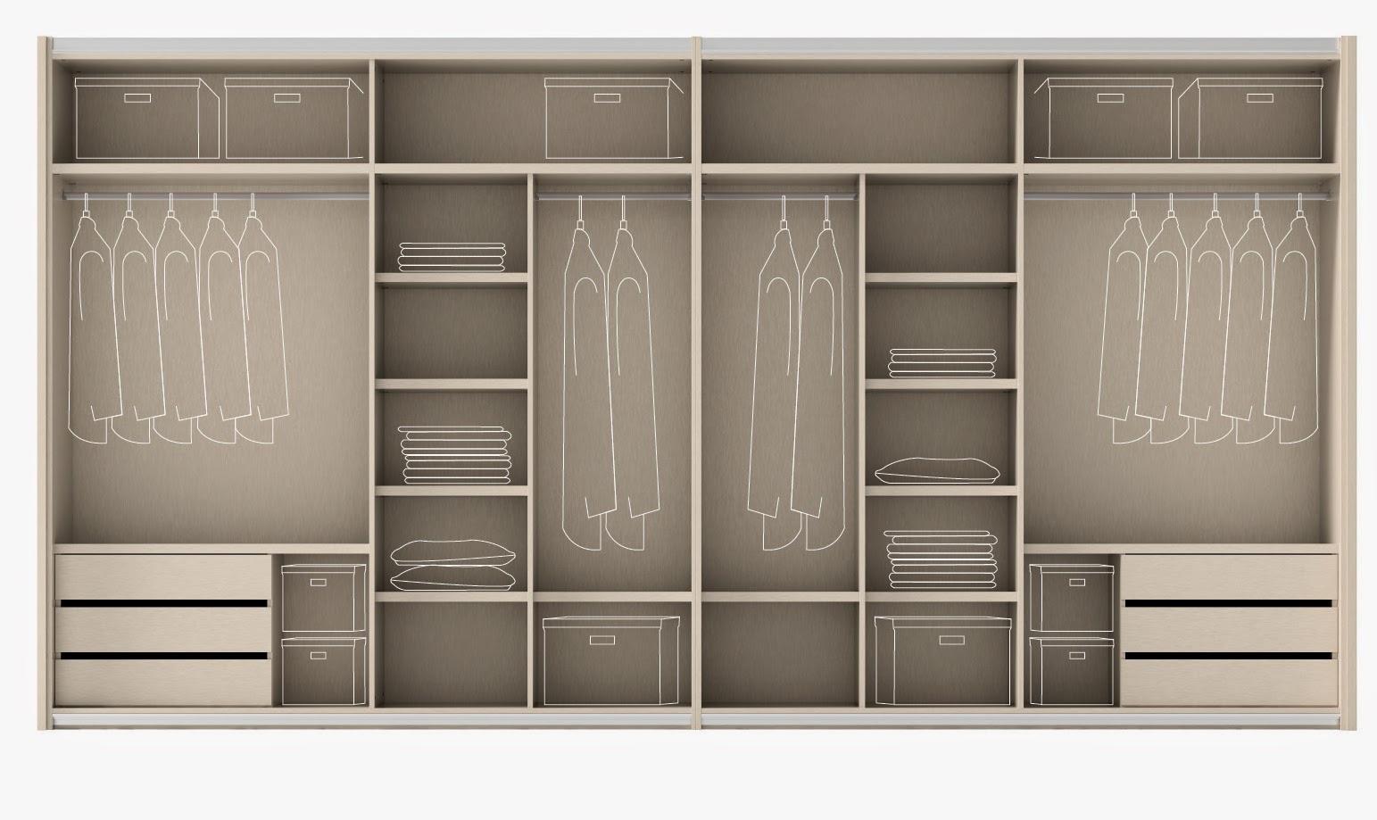 Consejos para ubicar un armario vestidor muebles ros - Como vestir un armario empotrado ...