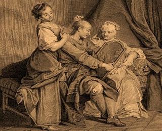 Le due vedove e l'uomo di mezza età (La Fontaine)