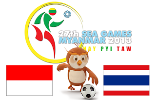 Tmnas Indonesia U-23 vs Thailand Sea Games 2013