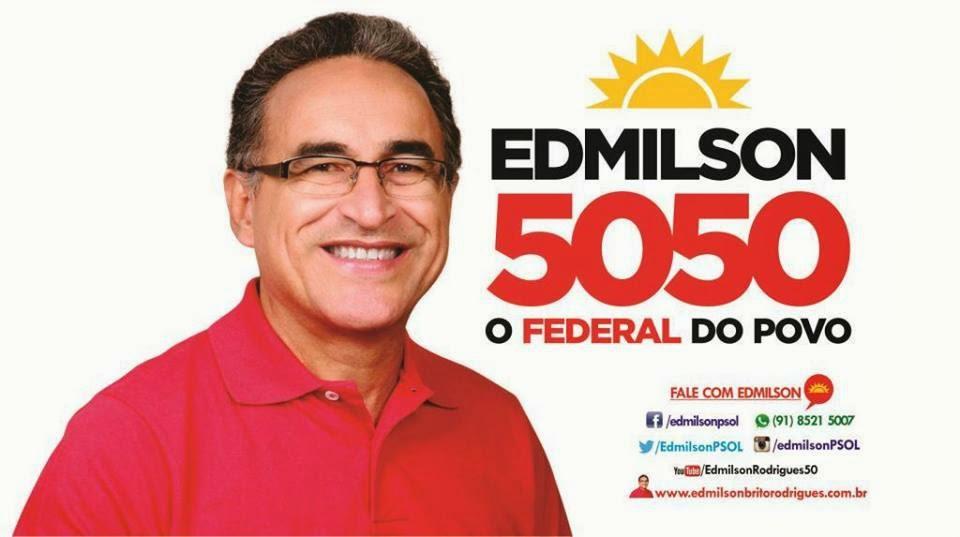 Edmilson Rodrigues Deputado Federal 5050