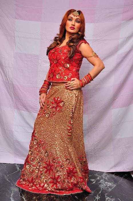 ramya sri red midi actress pics
