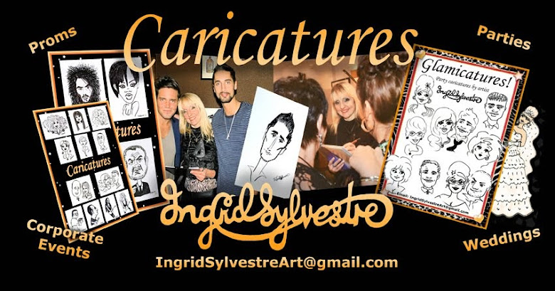 Ingrid Sylvestre Caricatures & Cartoons