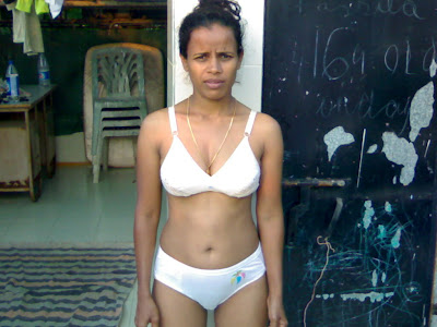 indian school girl in bra panty out door