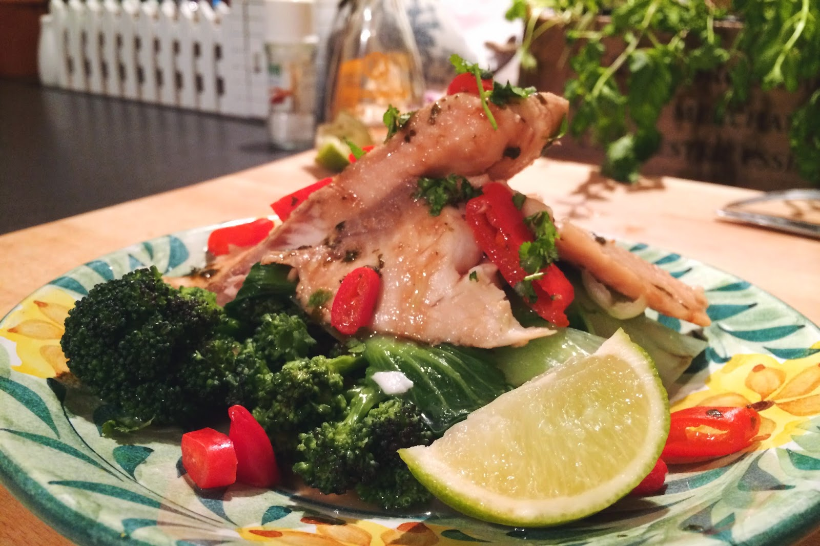 FashionFake, a UK fashion and lifestyle blog. FashionFake cooks is a series of easy, homemade recipes aimed to help cook delicious and healthy meals at home. Talapia fish fillets with chilli and lime.